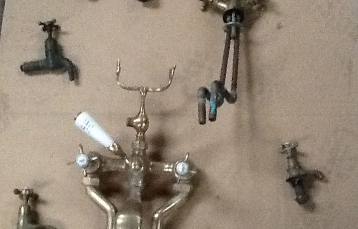 Various-old-water-taps